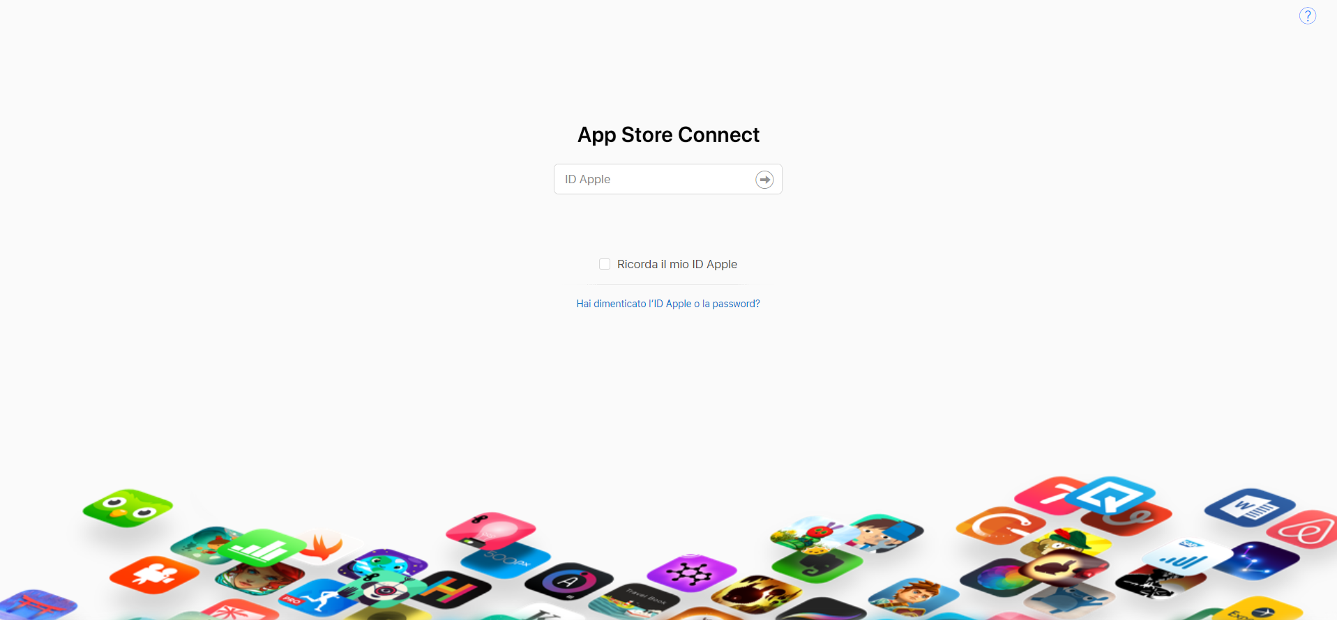 Come creare una nuova utenza dell'account Apple